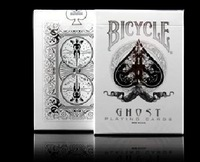 Bicycle Poker WHITE GHOST Best Playing Cards Magic Poker Bicycle