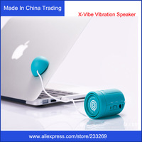 New arrival Fashion X-Vibe Vibration Speaker for cellphone/mp3 player/tablets pc/computer, 3.5mm jack port Computer Cellphone