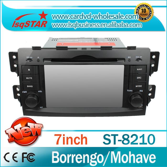 LSQSTAR DVD+Radio+BT phonebook+Ipod list+USB +SWC+ATV+MP4/MP5+GPS+Canbus For Kia Borrengo/Mohave(China (Mainland))