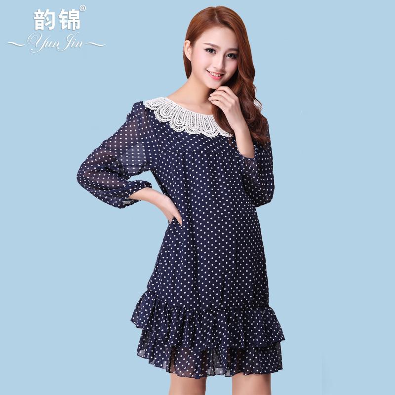 Maternidade roupas de verão 2014 novos moda chiffon top de proteção solar camisa roupas para mulheres grávidas blusa de manga o- pescoço(China (Mainland))