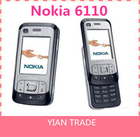 Original Nokia 6110 Navigator Mobile Phone Unlocked cell phone 2MP Camera free shipping