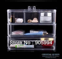 European cosmetic organizer fashion Crystal jewelry box household storage Gift/Present 1173-1