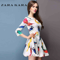 9215 spring one-piece dress one-piece dress 2014 women's spring one-piece dress