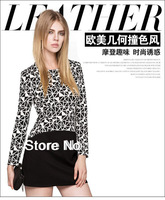 2013 New Winter Hit Color Stitching Geometrical Stretch Cultivating Long-sleeved Round Neck Jumpsuit WQZ11333