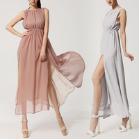 Sexy Elegant Women Maxi Long Bohemian Dress Cocktail Party Evening Chiffon Dress New 2014 Hot Selling