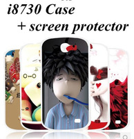 20 Colorful High Quality Cover Shell Case For Samsung GALAXY EXPRESS i8730 with screen protector Freeshipping