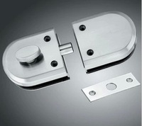 Free Shipping Glass Door Lock for single glass gate  with high quality