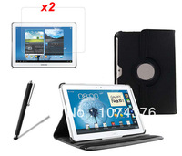 Чехол для планшета Ultra Super Offical Protective Case Thin Tablet Book Case Cover + Clear Film For Samsung Galaxy Tab 3 10.1 P5210 P5200 Free Ship