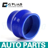 "4"" 102mm Hump Straight Silicone Hose Intercooler Coupler Tube Pipe Blue Color"