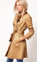 Wholesale & Retail Women's Trench Coat With Good Quality Plus Size XXL Long Winter Jackets Free Shipping TXH