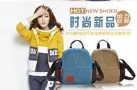 2014 canvas bag shoulder bag handbag messenger bag Free shipping good quality unisex