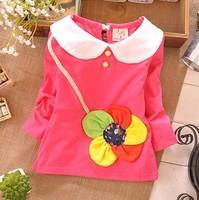 Детская одежда для девочек Baby Girls cotton cardigan jacket, new spring children's clothing, 4pcs/Lot#JZ082