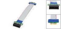 PCI-Express PCI-E 1X Slot Riser Card Flex Ribbon Extender Extension Cable Cord