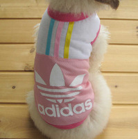 Free Shipping 2014 Popular Summer Dog Shirt  Cotton&Polyester Plaid Fashion Dog Clothes New Pet Product