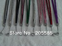 Fashion wholesale bling crystal rhinestone ego lanyard, ecig lanyard ring necklace free shipping