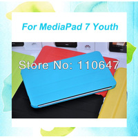 HuaWei MediaPad 7 Youth Smart Cover Slim Leather Folio Case For Huawei Youth S7-701 S7-701u S7-701w Free Shipping