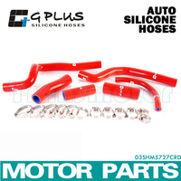 CR500 silicone radiator hose for Honda CR500R 1995-2001  RED