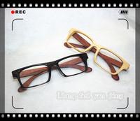 Bamboo glasses bamboo frame glasses handmade wool plain wooden glasses sunglasses