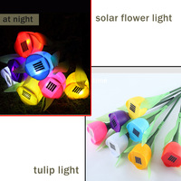 New recommend pathway solar lights 4pcs/lot low voltage 3W ABS material Red /Purple/Pink/White unique solar lights for signs