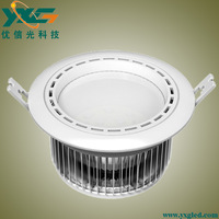 Hot sale YXG Aluminum led 15w ceiling lamp lights 90-100 lm/w warm white/ cool white free shipping by China Post