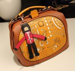 2014 new small PU leather Prince and Princess women messenger bags high quality designer handbag Crossbody bag p76