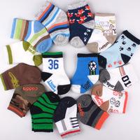 2014 New Spring 6 pairs / lot New Cute Baby Socks/Kid boy Cartoon Floor Socks 1-2 Years baby boys socks