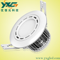 Free Shipping High quality Aluminum 3w led downlight using 1w high power led beads
