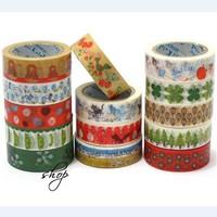 Blue Bai Stationery--Hot sale Small pure and fresh Japan kato hand-drawn series DIY Adhesive Tape 361