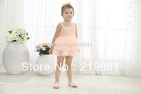 2014 Girls new lace flower tutu dress , girls summer dress  ,  5pcs/lot