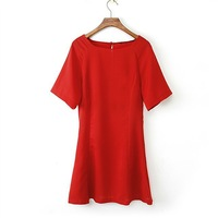 2014 NEW Woman 2 Colors Casual Short Sleeves Dress DR1122-A02