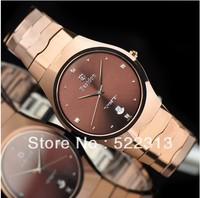 Bestdon Men casual elegant waterproof watch Ultra thin Tungsten steel lovers watches 8876G