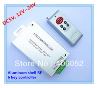 RGB Controllers Wireless RF Remote Controller 6 Keys for RGB LED Strip Light,12-24V ,free shipping
