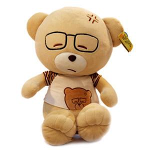Large Tactic bears the spectacled bear, bear plush dolls(China (Mainland))