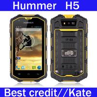 "2014 New Hummer H5 3G Cell phone 4.0""  Waterproof Shockproof Dustproof  Dual core 512M RAM 4G ROM GPS Outdoor WCDMA/Kate"