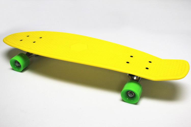 "New Arrival! 27"" Nickel Penny Skateboard Mini Cruiser Plastic Skateboard Wholesale Penny Long Skateboard(China (Mainland))"
