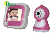 "Baby Monitor 3.5"" Wireless Digital IR Video Talk one Camera Night Vision video free shipping"