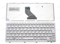 New RU keyboard For Toshiba NB300 NB305 RU keyboard silver MP-09K56SU6698 PK130BH2A11  MP-09K53US6698 PK130BH2A00