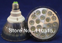 Wholesale CE RoHS E27 36W Par 38 LED PAR38 Bulb Lamp 85-256V with 18 LEDS Light warranty 2 years x 2pcs  drop shipping