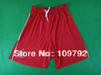 free shipping!!! Thailand Quality 2014 World Cup 14/15 spain home red Soccer Shorts Pants jerseys spain Football Shorts Pants