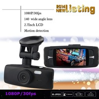 2014 new dash cam full hd 1080p 30fps novatek dvrs, 140 degree , 2.7LCD G1W G1WH for Car dvr camera cars video recorder , carcam