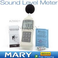 Freeshipping AZ8921 Digital Sound Level Meter noise meter decibel meter noise detector
