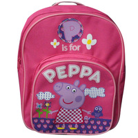 peppa pig pink preschool children's school bags baby backpack schoolbag shoulder bag Pepe pig backpack