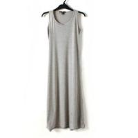 Fashion women's sleeveless tank dress full dress basic skirt