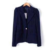 Fashion women's one button puff sleeve slim long-sleeve blazer outerwear female 0.40kg