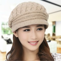The fall and winter of 2014 new knitting hat female south Korean han edition outdoor fashion warm earmuffs hat