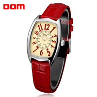 Watch women's dom trend fashion waterproof vintage strap ladies watch