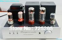 2X10W HIFI Single- ended Class A Tube Amplifier and Earphone Amplifier 6N9P Pre-amplifier EL34 Power Stage 5Z4PA Rectifier