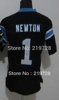 Free Shipping  2014 New Brand Stitched Carolina Football #1 Cam Newton Elite Football Jerseys, Accept Dropping Shipping.