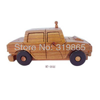Crafts WT-164d Car  Handmade manufactures and distributes wood crafts  home decoration  baby toy classic toys free shipping