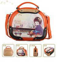 2013 new Brand tide female candy color handbag Messenger bag/A119